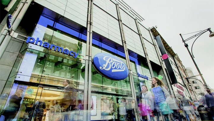 Boots Retail Store